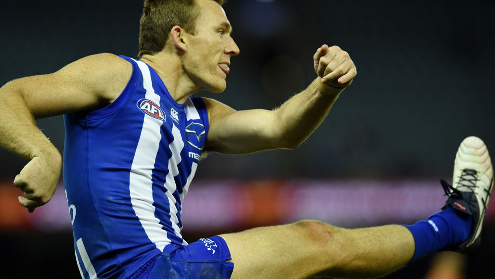 Veteran Drew Petrie believes there's a spot for him in the North Melbourne team to face Adelaide. (AAP)