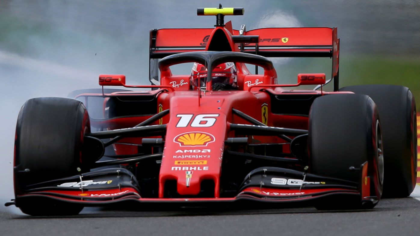 Charles Leclerc wins emotional Belgium Grand Prix after death of Anthoine Hubert