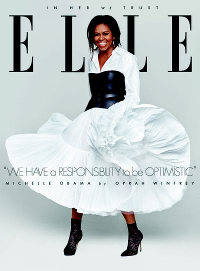 Michelle Obama for <em>Elle USA</em> December 2018
