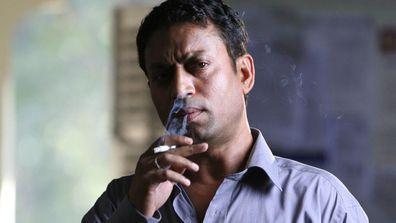 Irrfan Khan in Slumdog Millionaire.