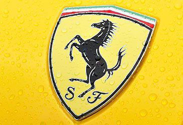 Daily Quiz: By what name is Ferrari's logo known?