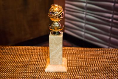 The coveted Golden Globe statue.