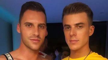 Aaron Brown and Ryan Ottey say they were asked to leave an Uber for being gay.