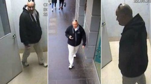 Victoria Police have released these images of a man they wish to speak to. (Supplied)