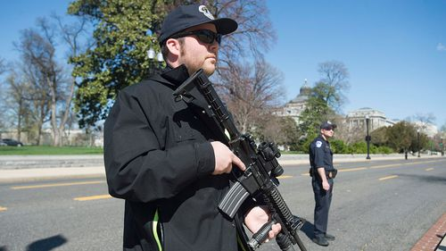 DC Police Department say there is no active threat to the public. (AAP)