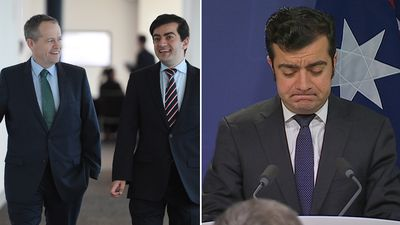 Sam Dastyari has quit the Senate