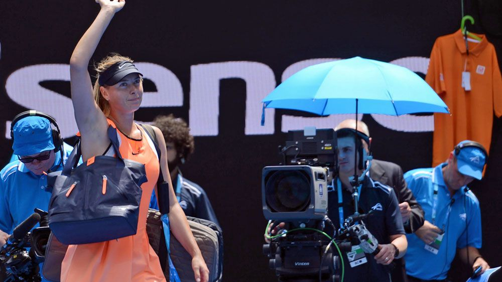Maria Sharapova. (AFP-file)