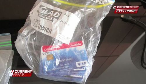 The scamming pair used PayPal cards to conduct their fraud. (A Current Affair)