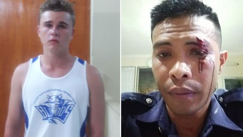 Aussie teen Zac William Whiting accused of punching Bali bouncer  Adni Junus Liu