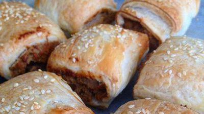 <strong>Renae Smith's vegetarian sausage rolls</strong>