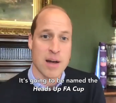 Prince William announced the collaboration on the Kensington Royal Instagram account.