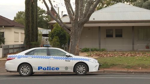 Police are treating the woman's death as suspicious as inquiries continue. Picture: 9NEWS