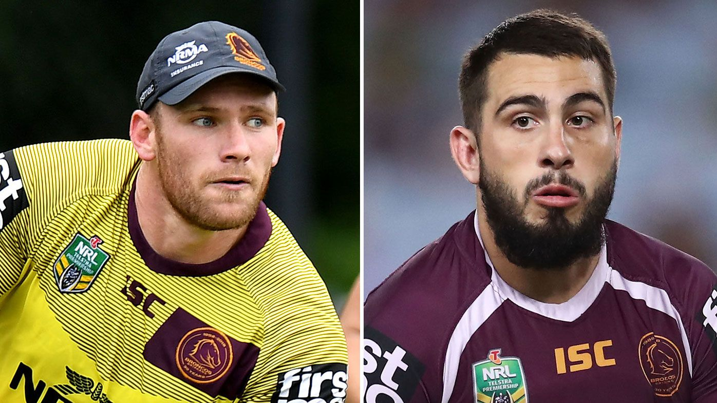Brisbane Broncos shut down claims of an altercation between Jack Bird and Matt Lodge