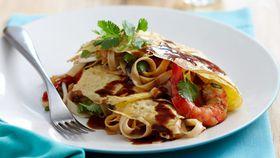Pad Thai omelettes
