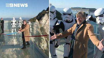 Luke Skywalker actor opens new Skywalk