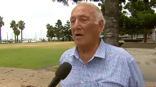 "Frank Costa has voiced concerns for his friend, Mark ""Bomber"" Thompson. (9NEWS)"
