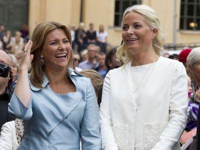 Norway's Princess Martha Louise and Crown Princess Mette-Marit