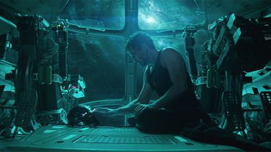Marvel Studios' AVENGERS: ENDGAME Tony Stark/Iron Man (Robert Downey Jr.) Photo: Film Frame ©Marvel Studios 2019