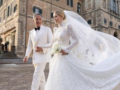 Lady Kitty Spencer and new husband Michael Lewis
