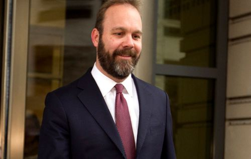 Rick Gates testified that he embezzled hundreds of thousands of dollars from Paul Manafort. (AP).