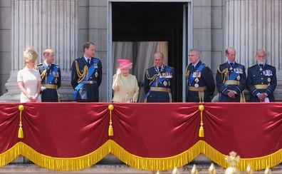 Prince Michael of Kent at the palace