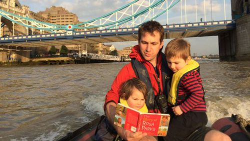 """Her husband, Brendan Cox, said above all else his wife would have wanted to make sure """"our precious children are bathed in love"""". (Twitter: @mrbrendancox)"""
