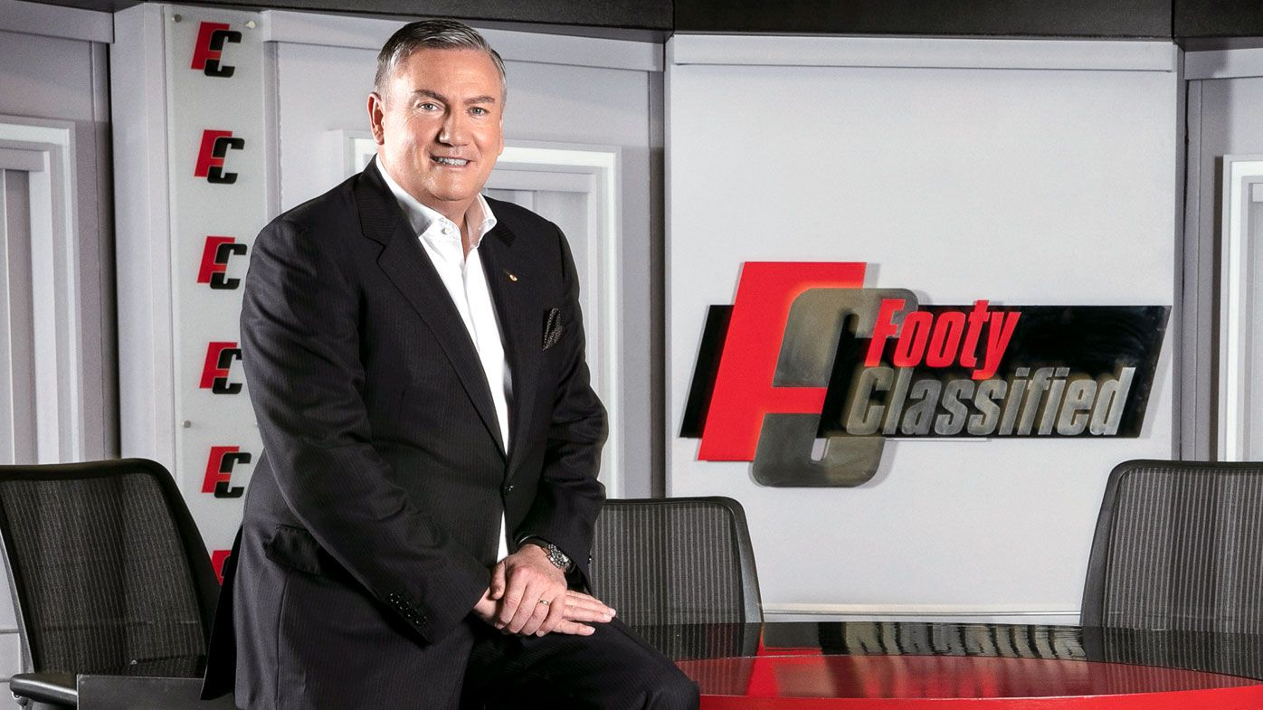 Eddie McGuire will be on the Wednesday edition of Footy Classified