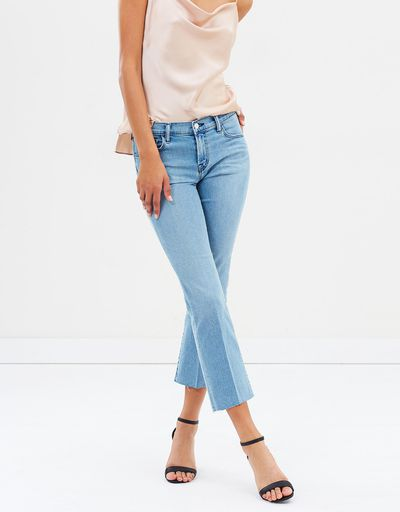 """<a href=""""http://https://www.theiconic.com.au/selena-mid-rise-crop-boot-jeans-644379.html"""" target=""""_blank"""" title=""""J Brand Selena Mid-Rise Crop Boot Jeans in Patriot, $383.78"""">J Brand Selena Mid-Rise Crop Boot Jeans in Patriot, $383.78</a>"""
