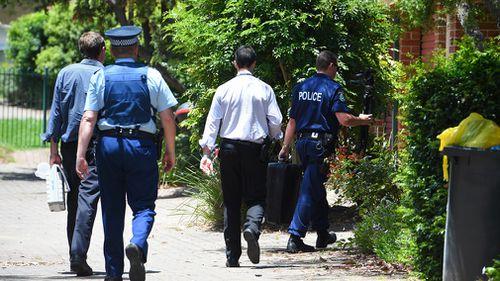 Police at the scene in November 2015. (AAP)