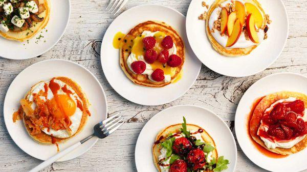Perfect pancake toppings