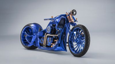 $2.4 million Harley-Davidson the most expensive motorcycle in the world