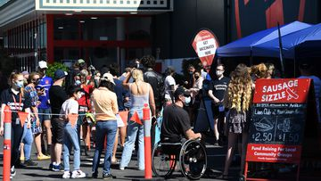 More than 4000 Queenslanders got a COVID-19 vaccine at a Bunnings yesterday.