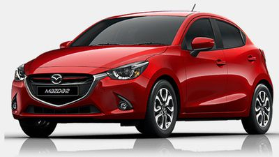 The Mazda 2 Genki was rated the best value light car under $25,000, with the VW Polo 81TSI Comfortline coming second, and the Ford Fiesta Trend coming third. (Supplied)