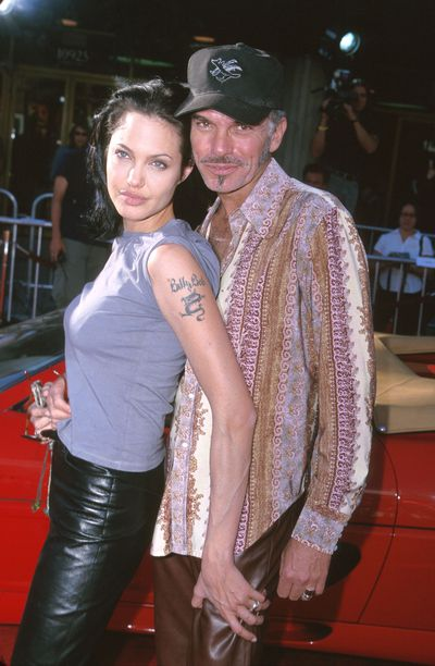 Angelina Jolie and Billy Bob Thornton at the <em>Gone in 60 Seconds </em>premiere in Los Angeles in  June, 2000