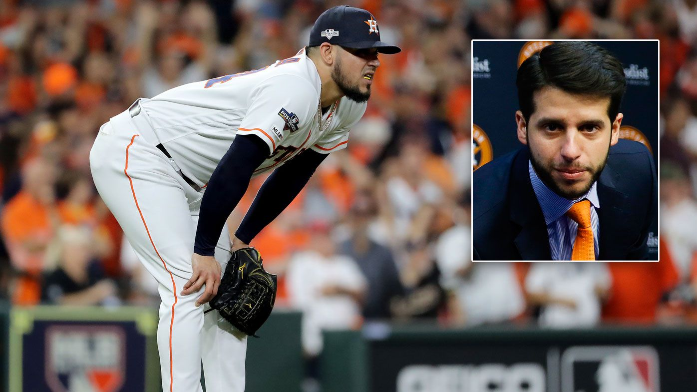 Houston Astros fire assistant GM Brandon Taubman during World Series
