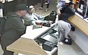 Arrests made after charity tin for bushfires stolen from Melbourne fast food store