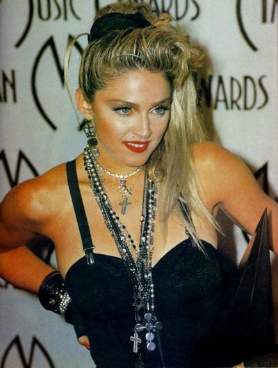 The material girl herself made scrunchies a part of her signature '80s look.