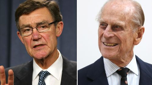 Air Chief Marshal Angus Houston and Prince Philip made Knights of the Order of Australia