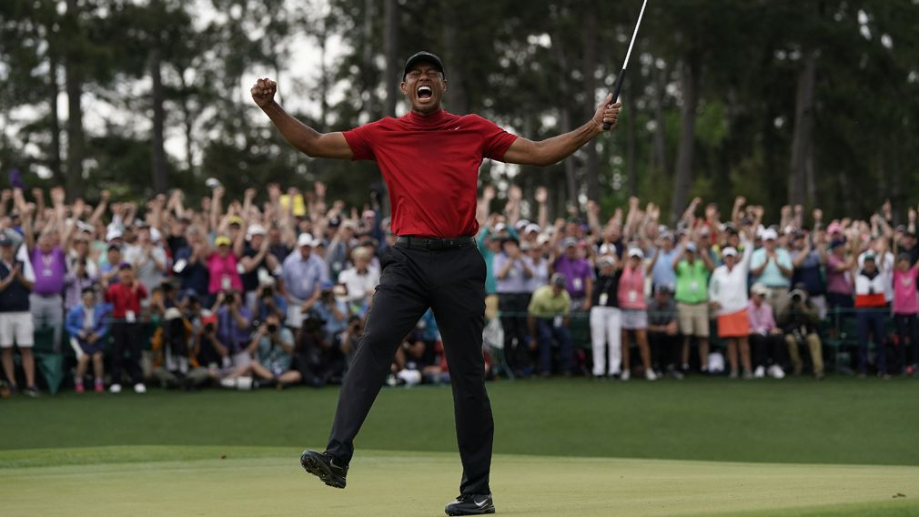 Lucky punter takes home $1.8 million after picking Tiger to win the Masters