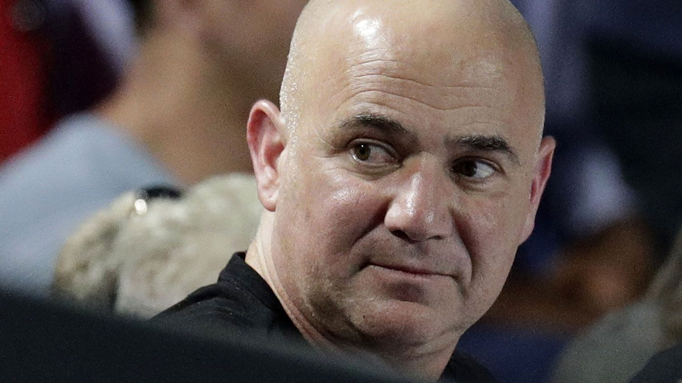 Andre Agassi's big hope for young Aussie stars as 'Big Three' era lingers