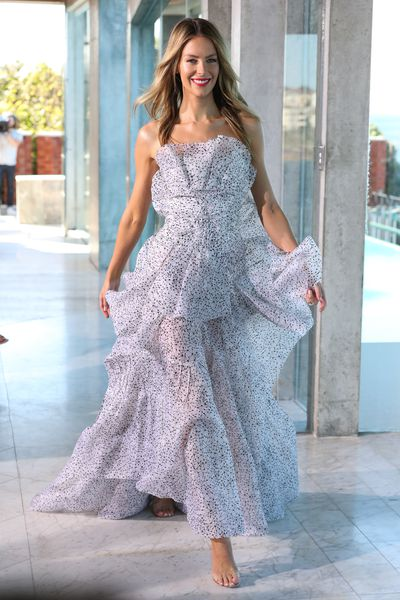 "<p>In her first runway show for Myer, international model and <a href=""http://style.nine.com.au/2016/12/01/07/46/victorias-secret-2016-paris-gigi-bella-adriana-kendall"" target=""_blank"" draggable=""false"">Victoria's Secret</a> stunner Elyse Taylor was a breeze of fresh air alongside Jennifer Hawkins and newcomer Aleyna FitzGerald.</p> <p>""Even though it was my first show for Myer it felt like family,"" Taylor said backstage at the Spring/Summer '17 launch for the department store. ""I got to catch up with Alex Perry, the stylist Trevor Stones and I've worked with most of the Myer team before.""</p> <p>Taylor landed in Sydney from the US yesterday, fell asleep at 7pm and promptly woke up at 1am this morning leaving plenty of time to prepare for the show.</p> <p>""I got to wear Yeojin Bae on the red carpet, a beautiful Morrison dress and Alex Perry in the finale,"" Taylor says. ""They were all great pieces.""</p> <p>Watching from the front row in Asilio, Jodi Anasta also welcomed the new season collections, revealing a hidden side to her wardrobe.</p> <p>""I loved We Are Kindred because I'm a bit of a secret bohemian,"" Anasta said. ""It's a look that I probably save for home more than anything.""&nbsp;</p> Image: Jennifer Hawkins in Toni Maticevski"