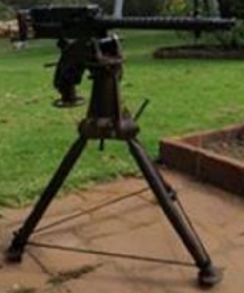 A Buffalo Arms M1919A4 Browning machine gun was handed in in Western Australia (National Firearms Amnesty 2017 Report)