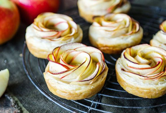 Amanda Michetti's Kanzi apple pastry rosettes