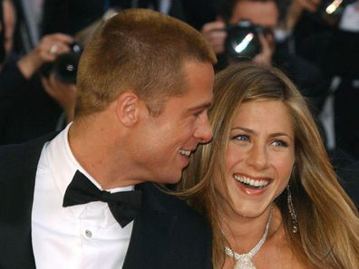 Brad Pitt, Jennifer Aniston, Cannes, Troy, movie, premiere