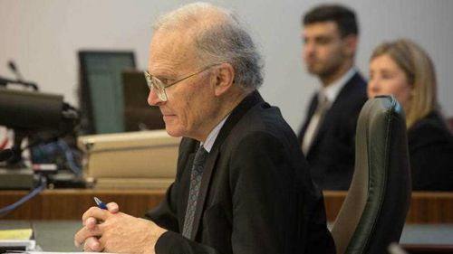 Commissioner Dyson Heydon presides over the Royal Commission into Trade Union Governance and Corruption. (AAP)