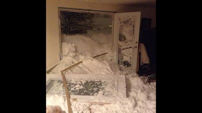 It burst its way in in some houses (WBEN NewsRadio 930AM - Twitter)