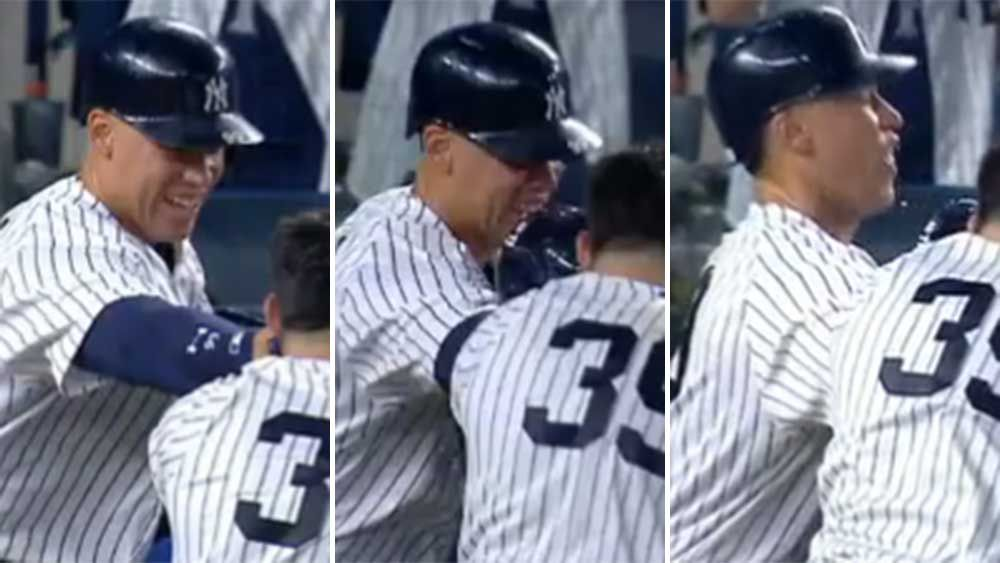Baseball: Yankee Aaron Judge loses tooth celebrating victory in MLB