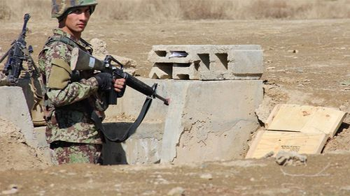 The army is tasked with combating the Taliban. (9NEWS)