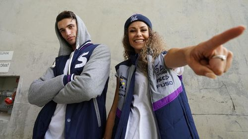 The Melbourne Storm have opted for a male and female dance crew.