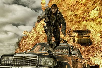 This is the first <i>Mad Max</i> film not to star Mel Gibson in the role of Max. That's alot of pressure Tom Hardy!